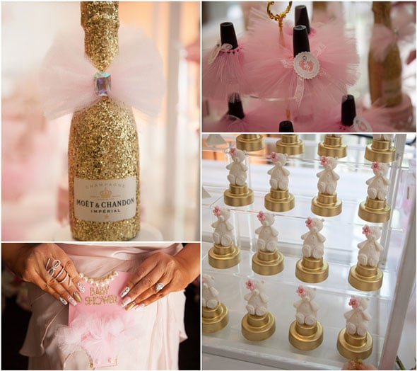 Tutu Cute Baby Shower Details via Pretty My Party