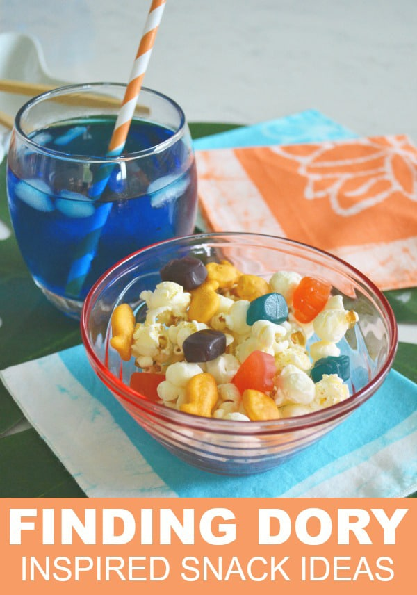 Finding Dory Inspired Snack Ideas via Pretty My Party