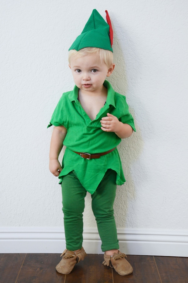 DIY Peter Pan Halloween Costume For Kids