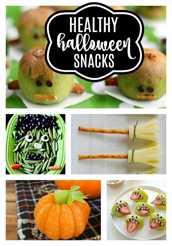Healthy Halloween Snacks For Kids on Pretty My Party