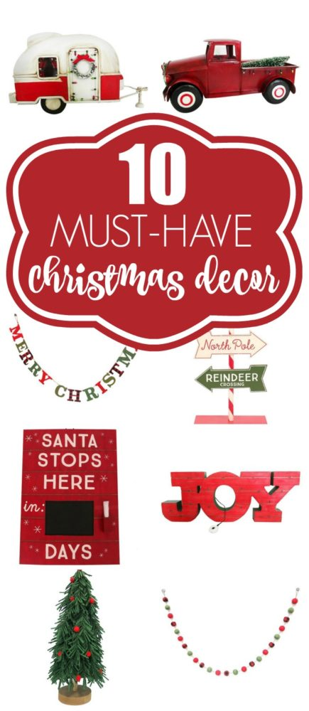 10 christmas decor must haves pretty my party - Christmas Must Haves
