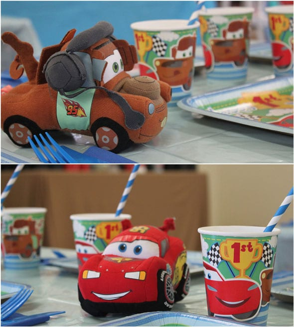 Disneys Cars Themed Birthday Party
