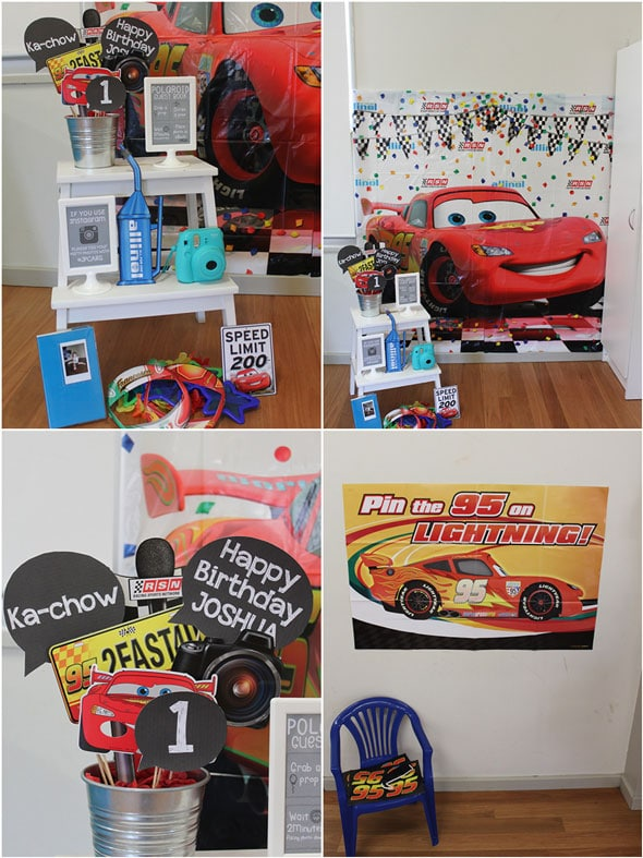 Disney's Cars Themed Birthday Party Games | Pretty My Party