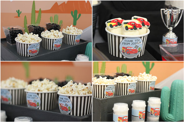 Disney's Cars Themed Birthday Party Treats | Pretty My Party