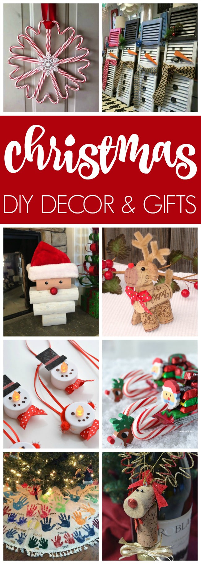 17 Epic Christmas Crafts on Pretty My Party