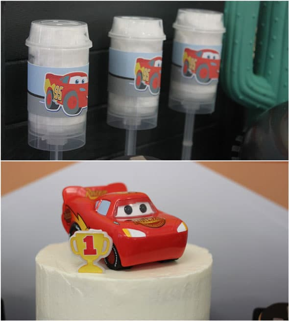 Disney's Cars Themed Birthday Party