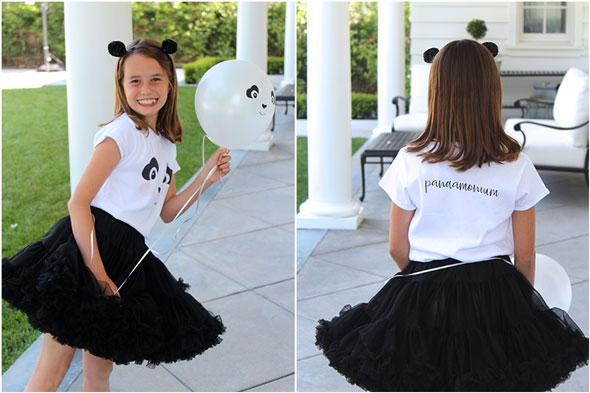 Party Like a Panda Birthday Party outfit via Pretty My Party