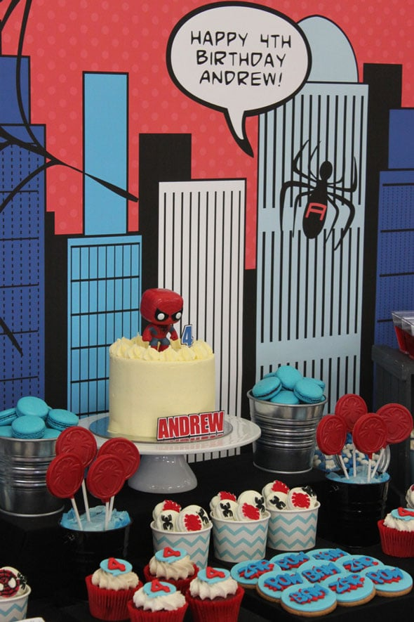 Spiderman Birthday Party | Pretty My Party