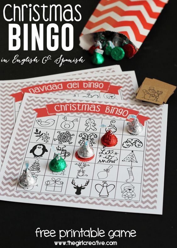 Christmas Bingo - Family Christmas Game