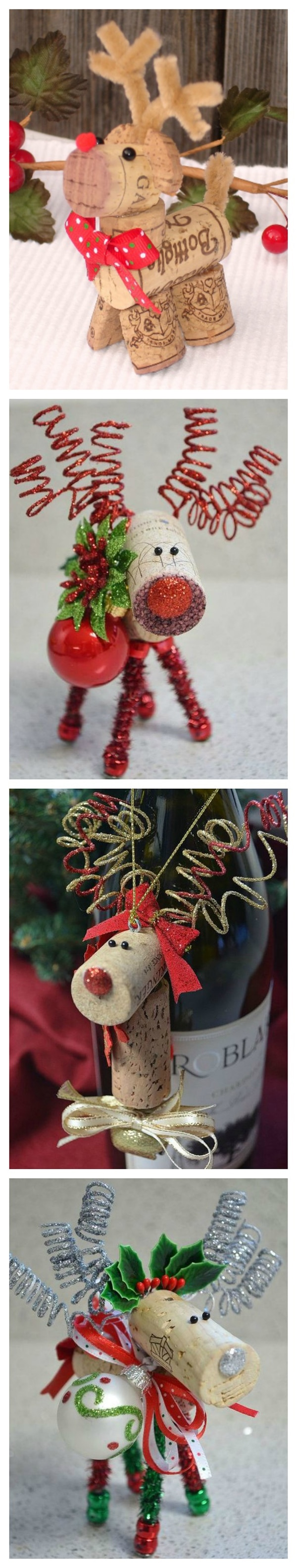 Cork Reindeer Craft