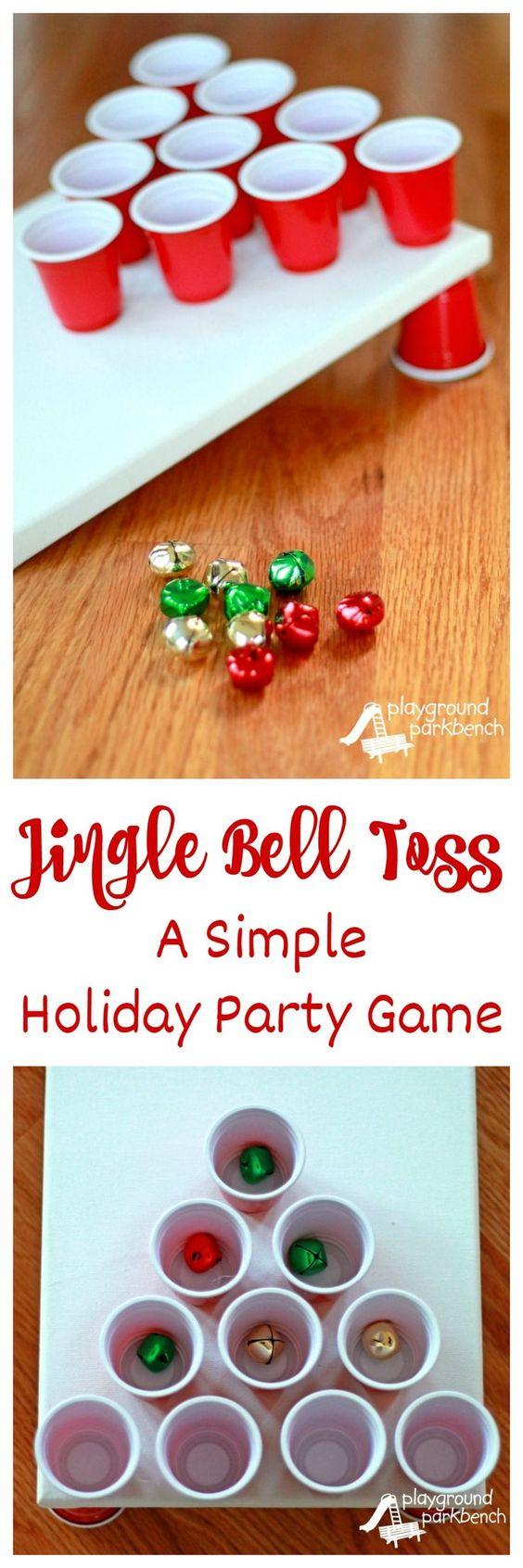 Jingle Bell Toss Christmas Party Game