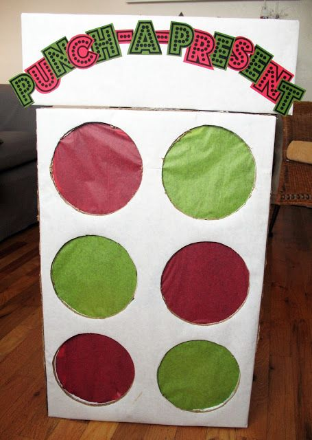 Punch a Present Christmas Game