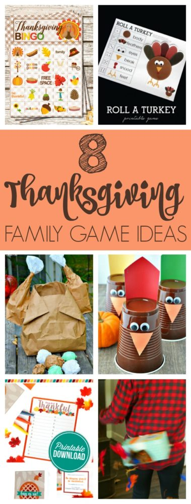 8 Thanksgiving Family Game Ideas via Pretty My Party