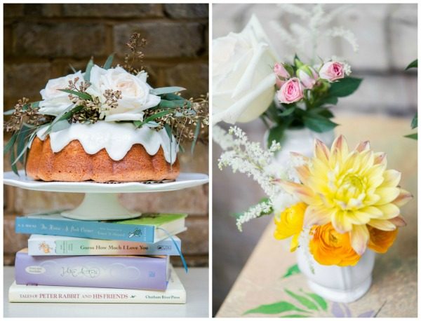 Whimsical Outdoor Baby Shower pies and cakes via Pretty My Party