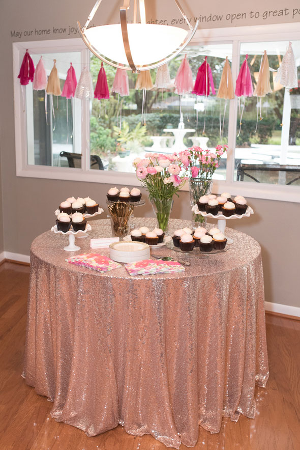 Baby Girl Sparkles and Sprinkles Baby Shower | Pretty My Party