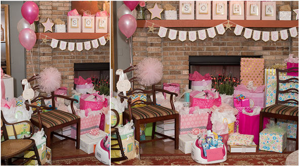 Baby Girl Sparkles and Sprinkles Baby Shower