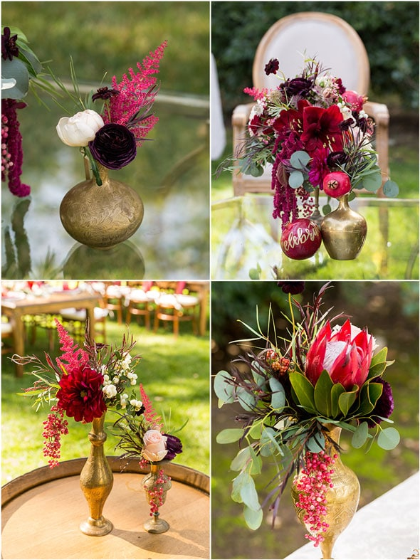 Pomegranate Inspired 60th Birthday in Wine Country | Pretty My Party