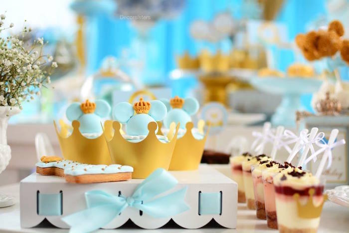 Mickey Mouse Party Desserts