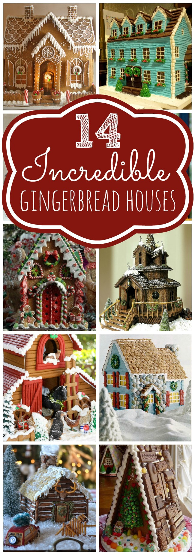 Amazing Gingerbread House Ideas on Pretty My Party