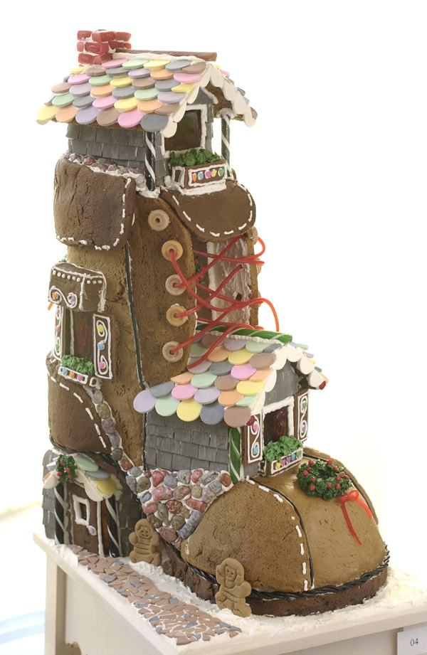 Gingerbread House Boot