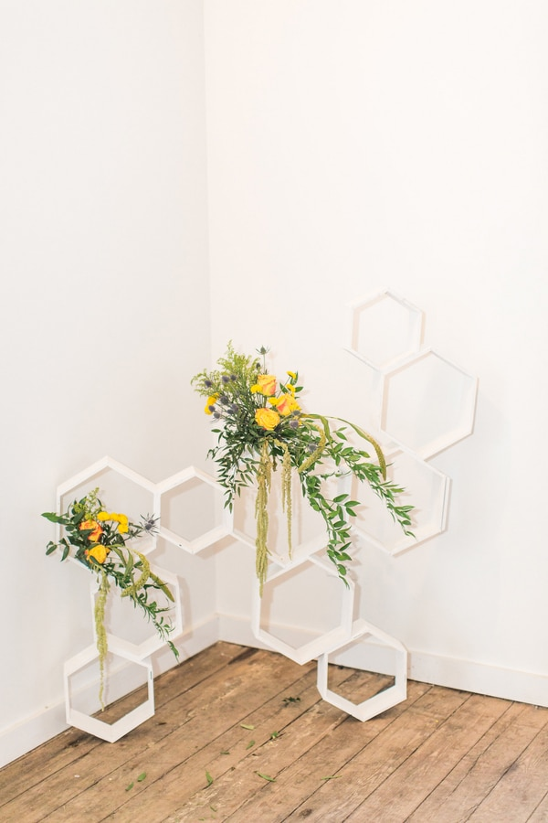 Bright Honeycomb Inspired Launch Event | Pretty My Party