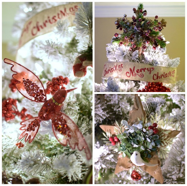 Winter Woodland Christmas Tree Decor | Pretty My Party