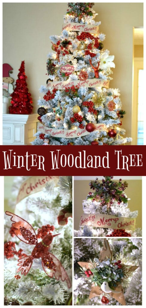 Winter Woodland Christmas Tree | Pretty My Party
