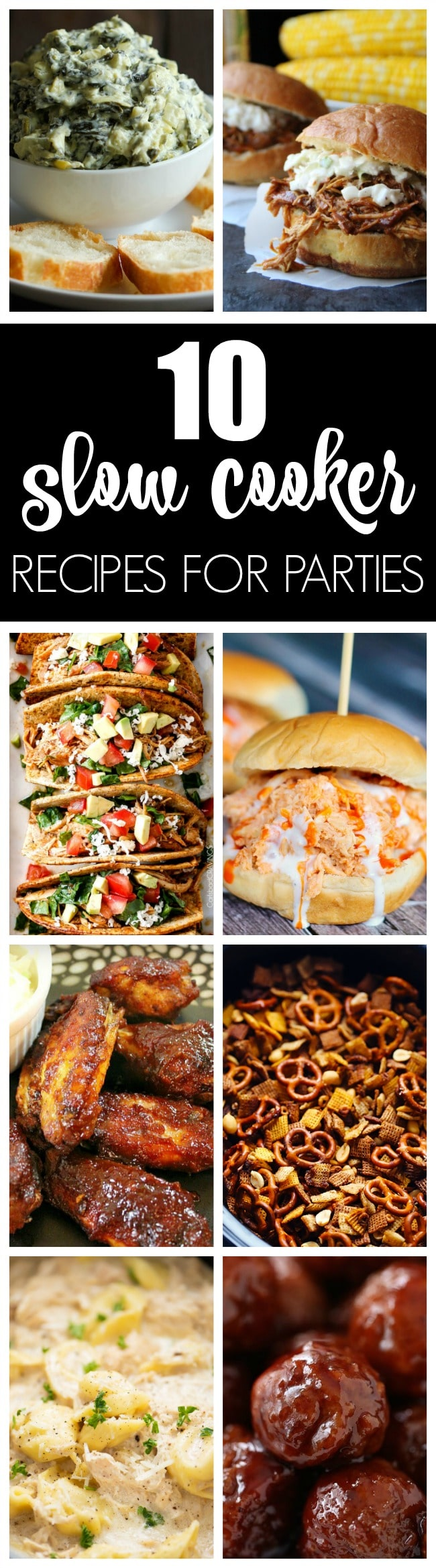 10 Best Crockpot Recipes For Parties - Pretty My Party
