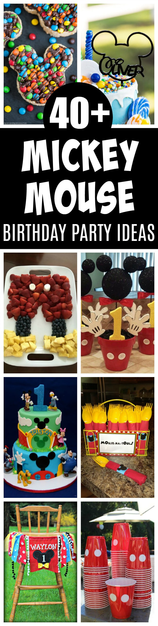 40 Mickey Mouse Birthday