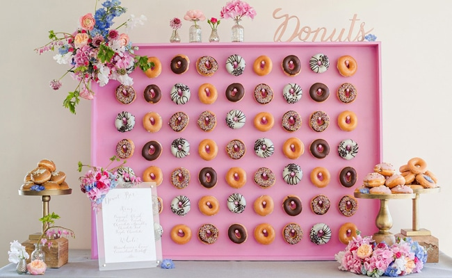 15 Unforgettable Donut Wall Display Ideas Pretty My Party