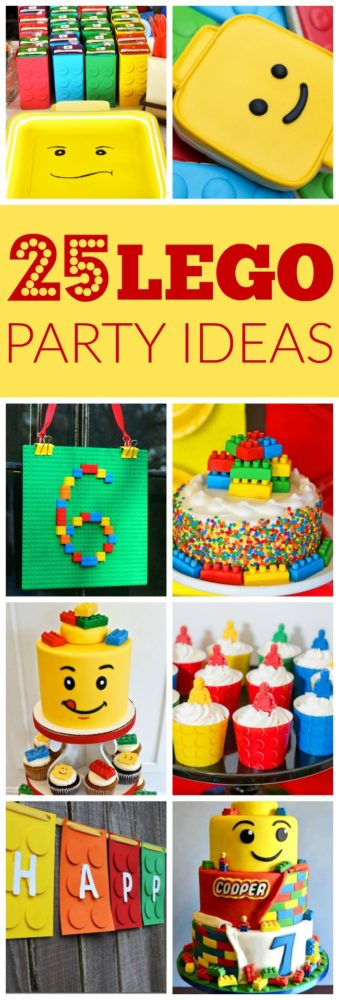 25 Lego Themed Party Ideas - Pretty My Party
