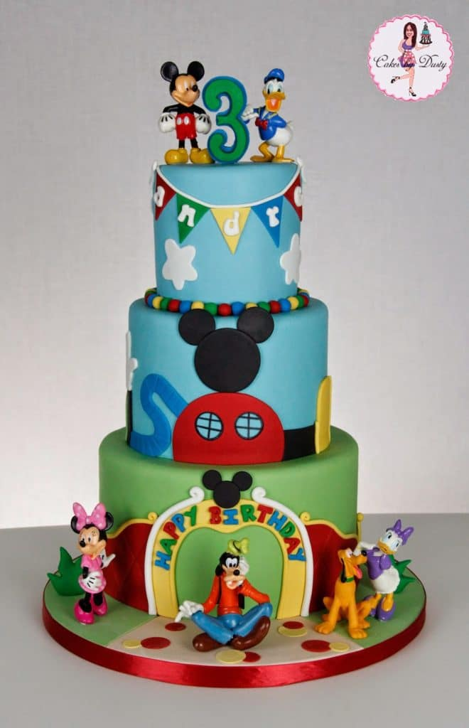 Fantastic 40 Mickey Mouse Party Ideas Mickeys Clubhouse Pretty My Party Personalised Birthday Cards Veneteletsinfo