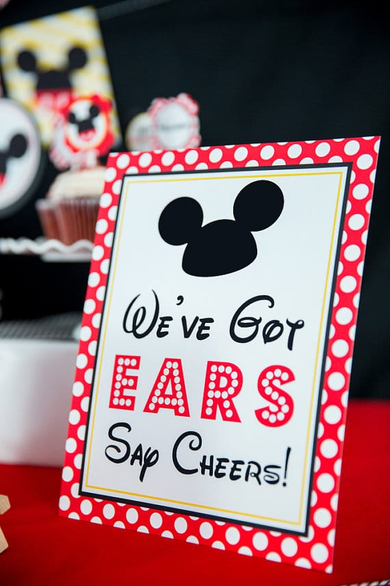 40 Mickey Mouse Party Ideas Mickey S Clubhouse Pretty