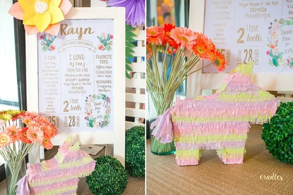 Chic Mexican First Birthday Fiesta | Pretty My Party
