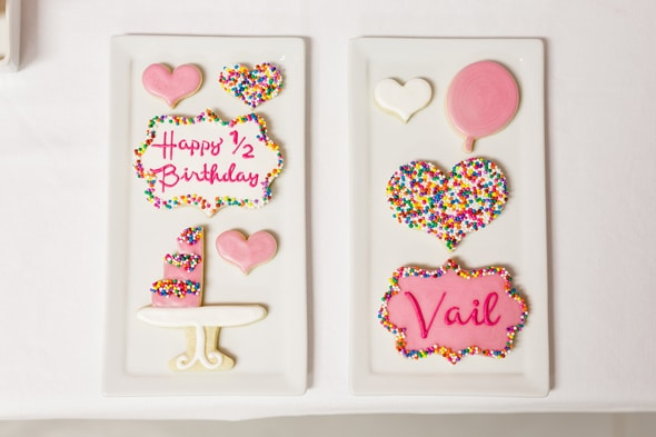 Little Sprinkles Birthday Fun Cookies | Pretty My Party