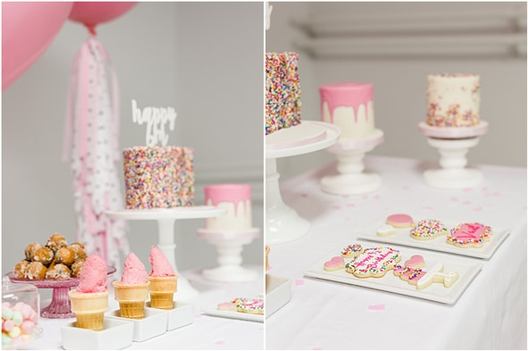 Little Sprinkles Birthday Fun Desserts | Pretty My Party