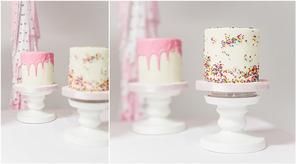 Little Sprinkles Birthday Fun Cakes | Pretty My Party