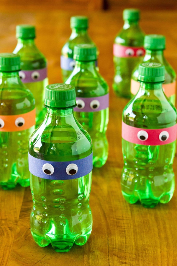 Ninja Turtle Party Drinks