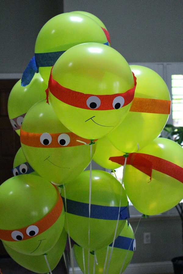 Ninja Turtle Party Balloons