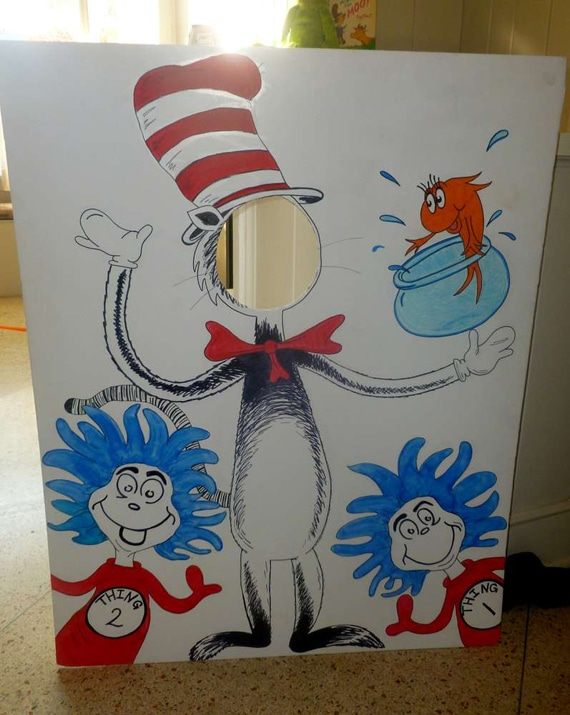 Dr. Seuss Cat in the Hat Photo Cutout | Pretty My Party