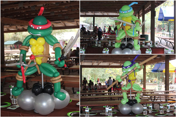 Awesome Ninja Turtle Balloons