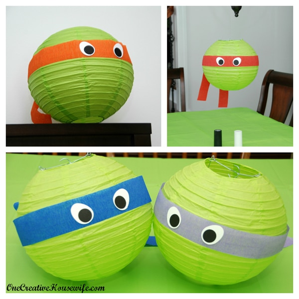 Ninja Turtle Hanging Lantern Party Decorations