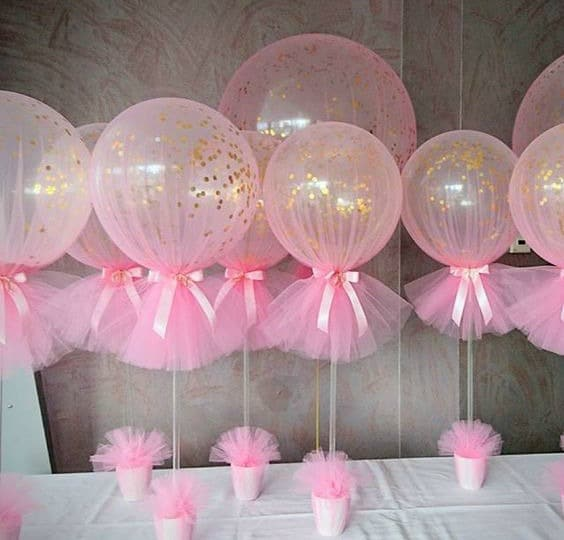 Pink and gold first birthday party ideas pretty my