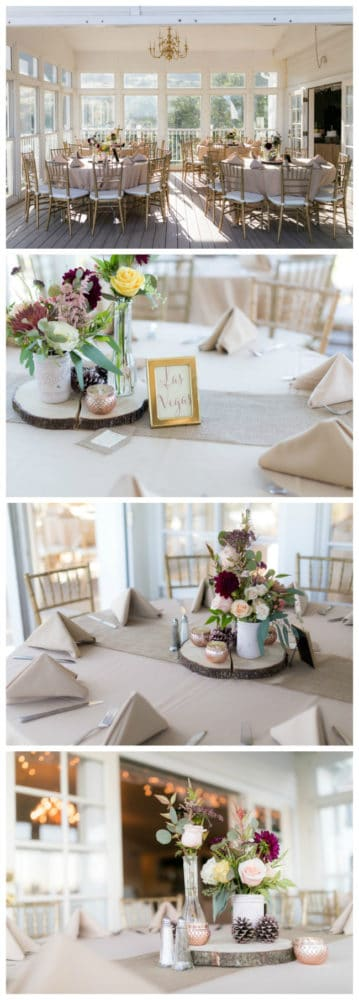 Pretty Colorado Mansion Table Centerpiece | Pretty My Party