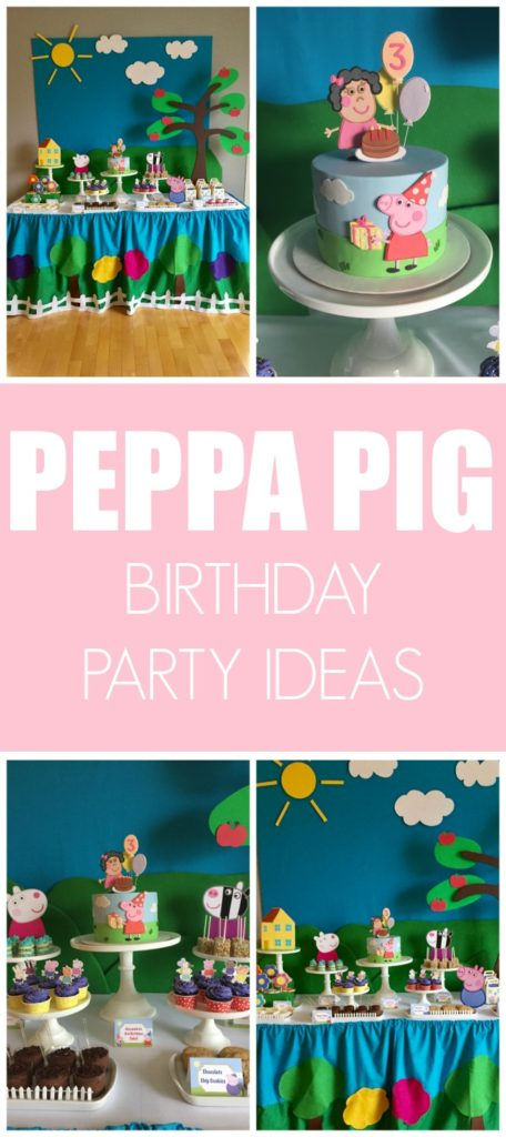 Peppa Pig Birthday Party on Pretty My Party