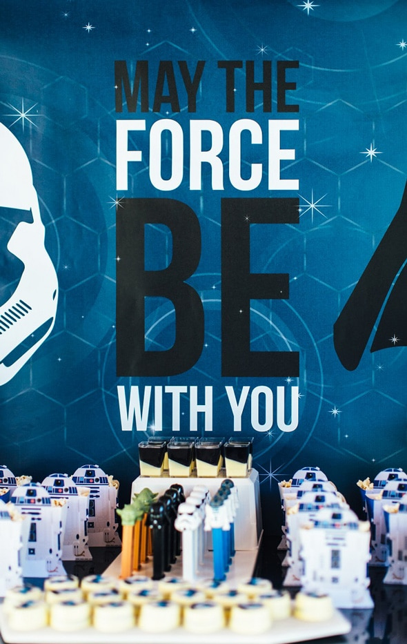 Unique Star Wars Birthday Party on Pretty My Party