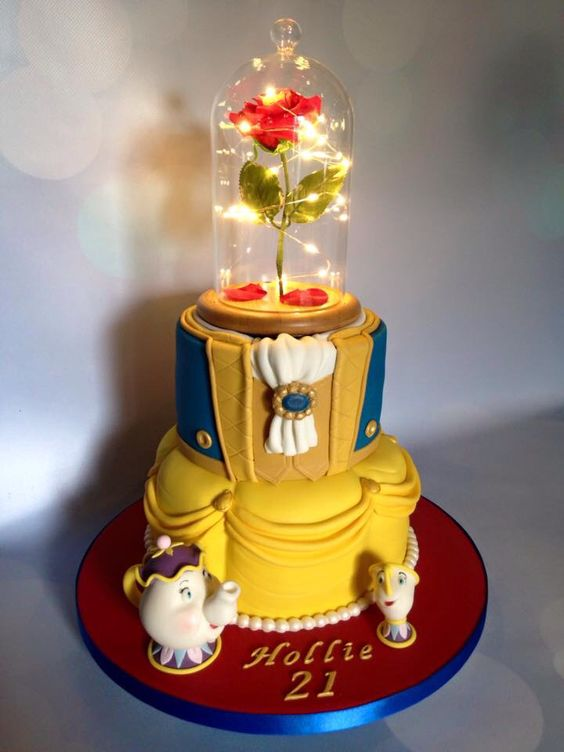 Beauty And The Beast Party Ideas Pretty My Party Party Ideas