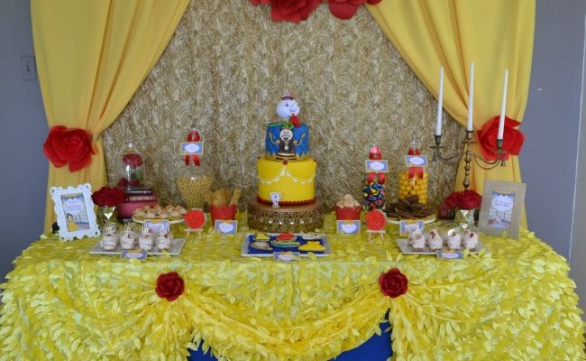 Enchanted Beauty and the Beast Birthday Party