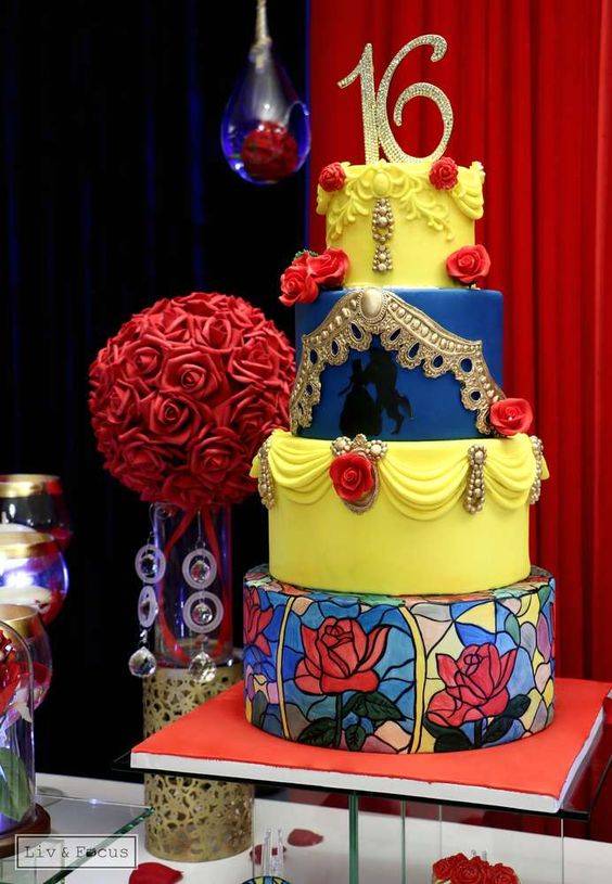 Beauty And The Beast Party Ideas Pretty My Party Party