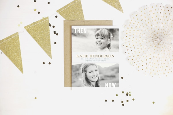 Stylish Graduation Invitation Ideas from Basic Invite | Pretty My Party